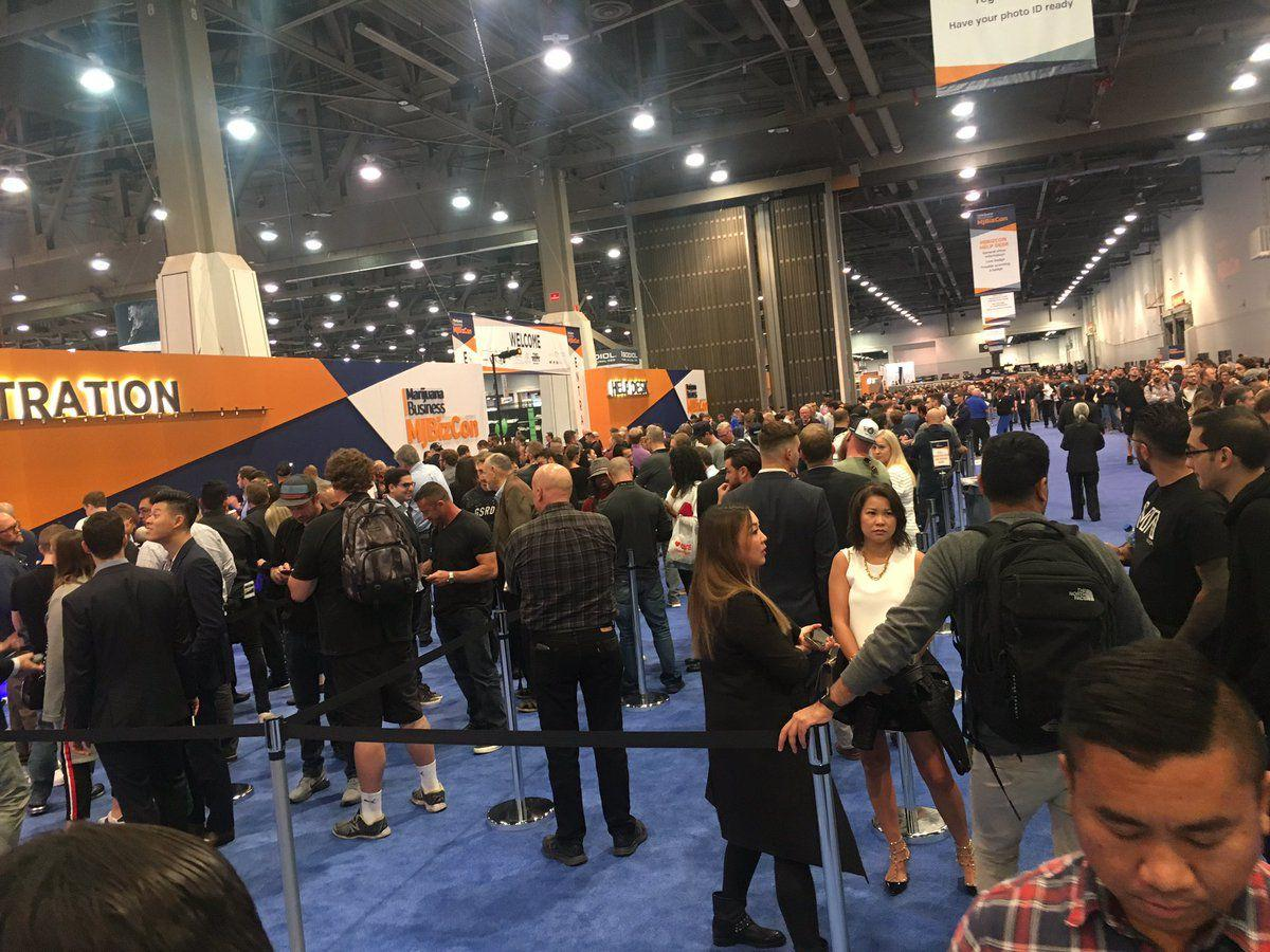 According to several MJBizCon vendors, anyone with a big name or who wants to make a name for themselves in the business will be at the convention. Cherney Amhara (FOX5 LAS VEGAS)