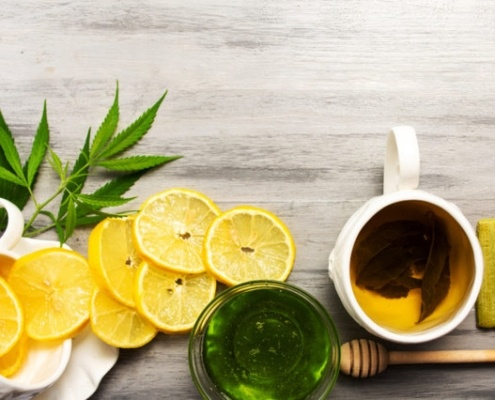The antioxidant properties of CBD.